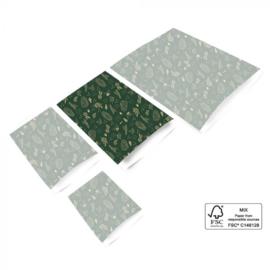 Cadeauzakjes L green nature (5st)