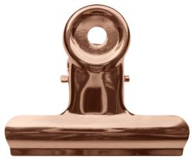 Bulldog clip roségoud S (2st)