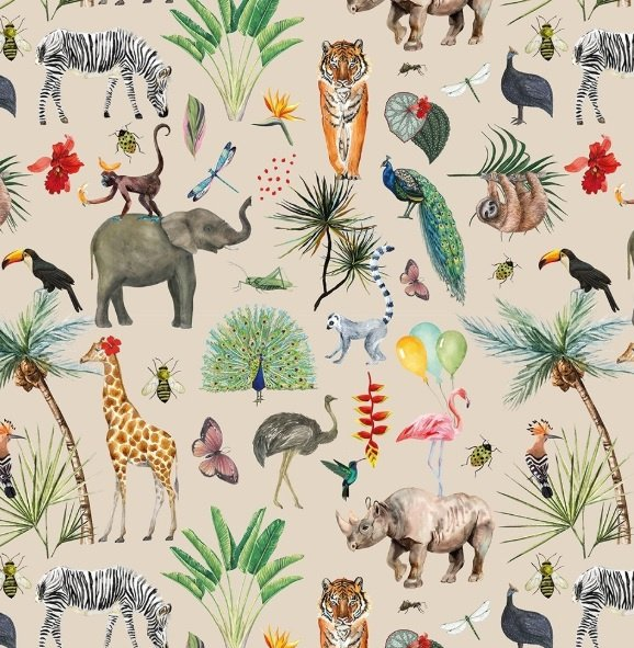 Cadeaupapier jungle