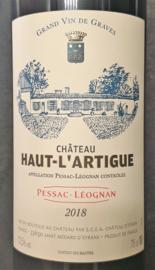 Château Haut-L`Artigue 2018