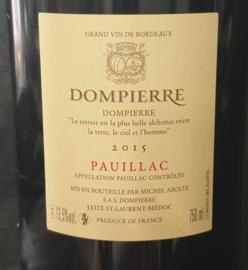 Château Dompierre Pauillac 2015