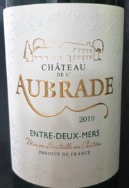 Château de L`Aubrade Entre-deux-Mers Blanc 2019