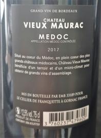 Château Vieux Maurac Médoc 2017