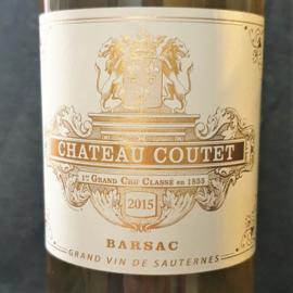 Château Coutet Sauternes Barsac (Premier Grand Cru Classé) 2015