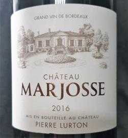 Château Marjosse 2016