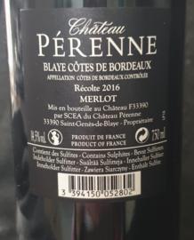 Château Pérenne 2016