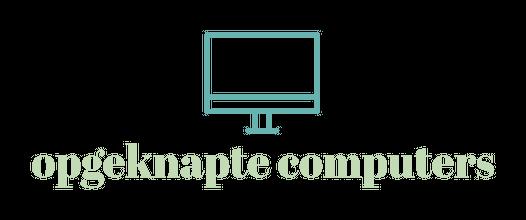 opgeknapte computers