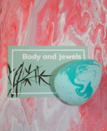 Beauty blender marble Groen/Mint