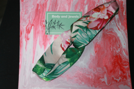 Haarband Twist Bloemen Print Roze Groen