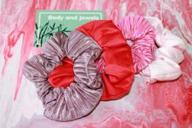 Scrunchie Set Pink sky