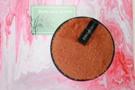 Wasbare Make-Up Pad Licht Bruin