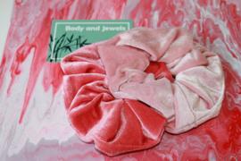 Scrunchie Set Pinky