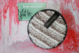 Wasbare Make-Up Pad Wit/Bruin