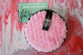 Wasbare Make-Up Pad Roze