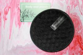 Wasbare Make-Up Pad Zwart