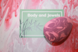 Beauty blender marble Paars/Roze