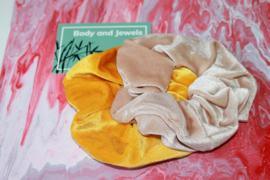 Scrunchie Set Natural