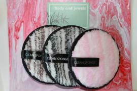 Wasbare Make-Up Pads Set