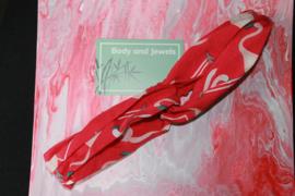 Haarband Twist Flamingo Roze