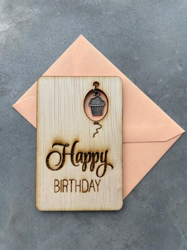 Happy Birthday met bedel