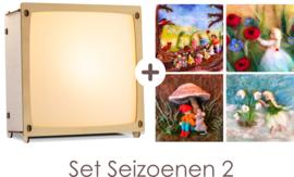Toverlamp + Wolfeetje Seizoenen set 2