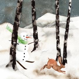 Sneeuwpop   Losse afbeelding