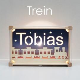 Naamlamp met thema Deluxe