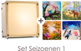 Toverlamp + Wolfeetje Seizoenen set 1
