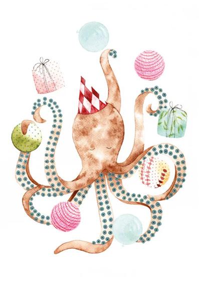 Octopus   Losse afbeelding