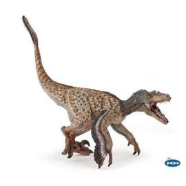 Velociraptor met veren Papo 55086 - Nieuwe 2020 versie