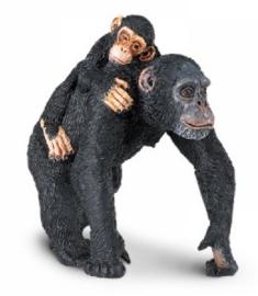 Chimpansee met jong  S295929