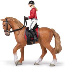 Paard en ruiter - Papo 51564