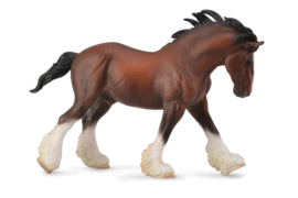 Clydesdale Hengst voskleurig XL 1:20  CollectA 88621