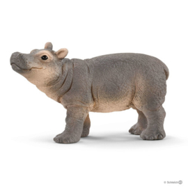 Nijlpaard jong Schleich 14831