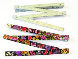 Bloemen meetlat:  Flowers by the meter