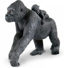 Gorilla met baby  S294729