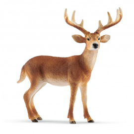 White-tailed deer buck Schleich 14818