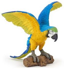 Ara  blauw-gele Papo 50235