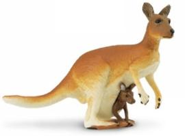 Kangeroo met jong Safari Ltd S292029