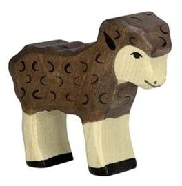 Lam (zwart) Holztiger