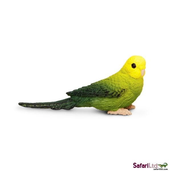 Grasparkiet groen Safari Ltd S150429
