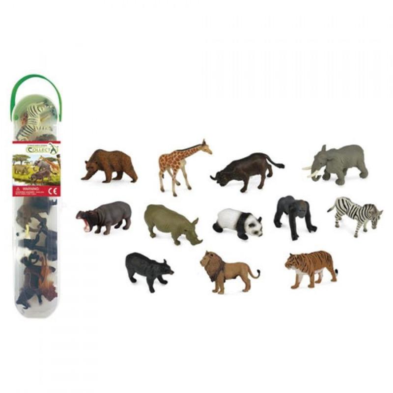 WILDLIFE   set met 12 wilde dieren