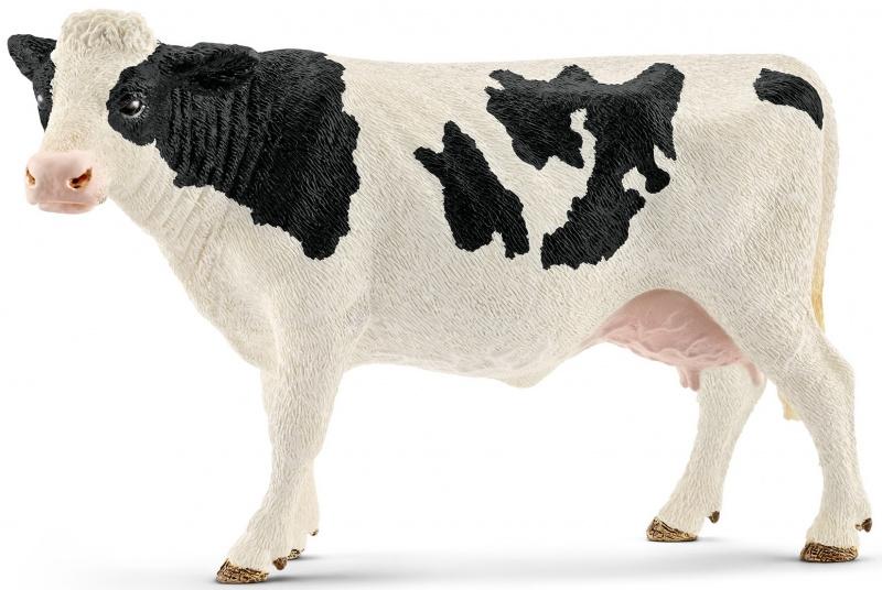 Zwartbont koe Schleich 13797
