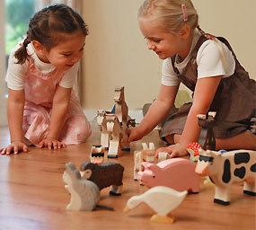 houten dieren speelgoed