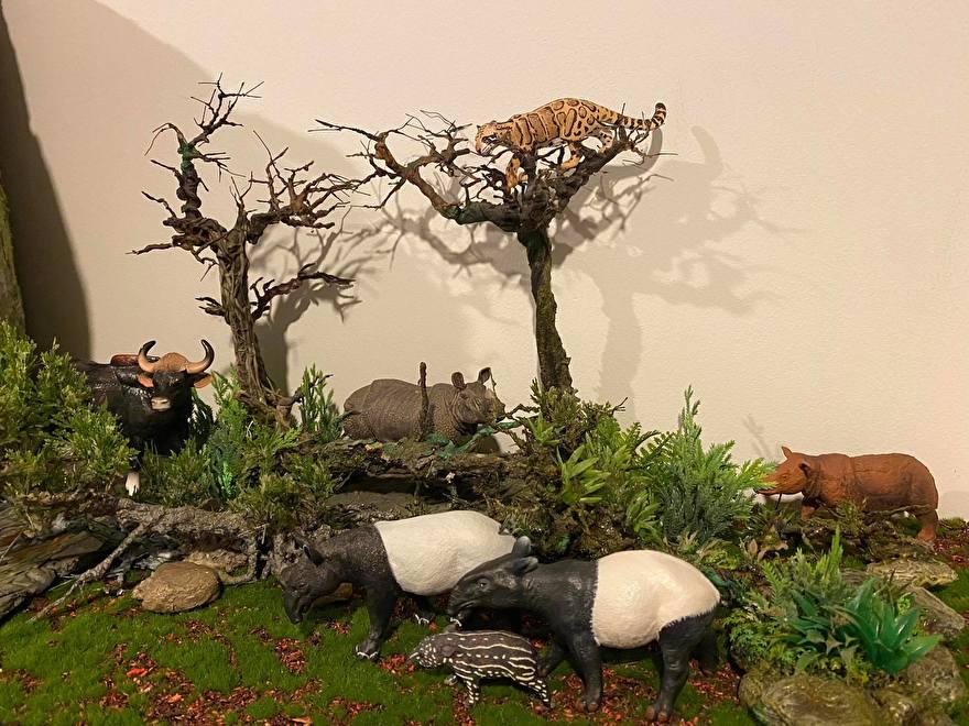 tapirs schleich collecta