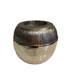 Waxinelichthouder Colmore aluminium 10 cm