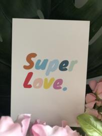 Super Love kaart