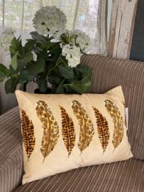 Goround kussen feather beige 40x60