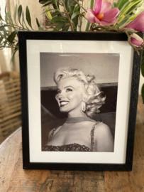 Poster met frame Marilyn Monroe  3 30x37,5