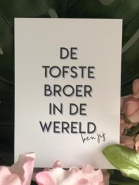 Tofste Broer kaart